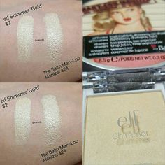 """231 Likes, 3 Comments - Vanessa (@vanedb) on Instagram: """"This Mary-Lou Manizer dupe is back in-stock at elfcosmetics.com for only $.80 cents!Run and get…"""""""
