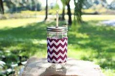 Image result for purple chevron  mason jar
