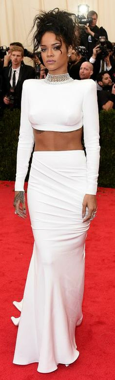 Mirror Mirror on the Wall...The Baddest and Most Beautiful of Them All!!-- Rihanna in Stella McCartney 2014