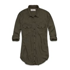 Womens Katrina Shirt - Olive