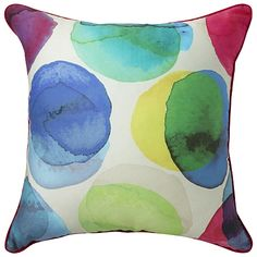 Finnigan Cushion in Multi from Freedom Furniture Scatter Cushions, Floor Cushions, Throw Pillows, Freedom Furniture, Fabric Armchairs, Dream Bedroom, Soft Furnishings, My Sunshine, Playroom