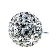 Blomdahl NT Crystal Ball 6mm Black Diamond D