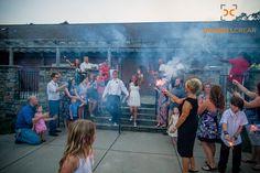 Sparkler Send Off at The Drummond Center in Greenwood, South Carolina