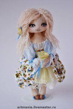 Bonecas artesanais perfumadas.  Mestres Feira - handmade Dasha.  Handmade.
