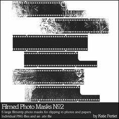 Filmed Photo Masks Brushes and Stamps No. 02