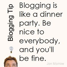 Part of a series of tips for serious bloggers from A-list blogger Jon Morrow.