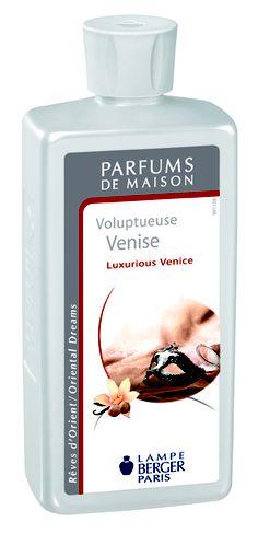 Parfum de Maison Voluptueuse Venise.  Une composition vertigineuse, un parfum d'une très grande féminité, au charme fou.