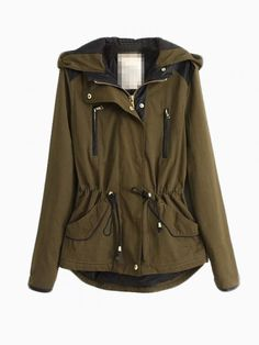 New Look Military Parka