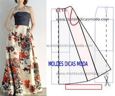 FREE Sewing Patterns for Trousers and Skirts Skirt Patterns Sewing, Sewing Patterns Free, Clothing Patterns, Skirt Sewing, Free Sewing, Sewing Tips, Fashion Sewing, Diy Fashion, Sewing Clothes