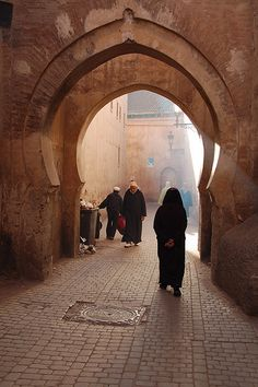 In Morocco it was the souk (inner city).alleys of mystery that captivated my imagination. I wanted days maybe more to wander in each of them. Agadir, Naher Osten, Africa Destinations, Marrakech Morocco, Islamic Architecture, North Africa, Far Away, Casablanca, Places To Visit