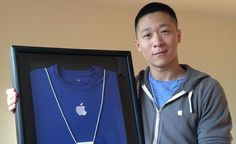 Sam Sung Subasta su Antiguo Uniforme de Apple Por una Buena Causa