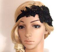 40% SALE Gatsby Headpiece Gatsby Headband by SweetieWorkshop