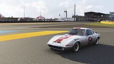 Forza Motorsport 6, Opel Gt, Car, Vehicles, Sports, Glass Display Case, Autos, Hs Sports, Automobile