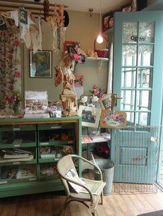 Shop interior Nostalgia at No1 Shepton Mallet, Somerset