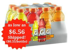 Gatorade Original Thirst Quencher Variety Pack 12 Count as low as $6.56 Shipped!