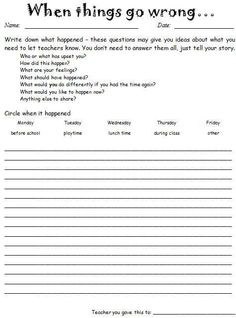 FREE! A self-reflection worksheet that allows students to evaluate ...