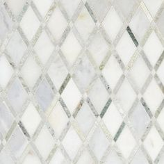 Carrara White Caribbean Green Marble Mosaic - 12 x 12 - 100051770 - Flooring Decor Green Marble, Carrara, Decorative Tile, Marble Backsplash, Marble Mosaic Tiles, Marble Mosaic, Mosaic, Marble Bathroom, Cottage Style Bathrooms