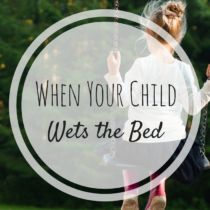 Bedwetting and your child