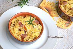 Pasta pasticciata con salame e provola. #ricetta di @luisellablog