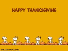 Snoopy / Peanuts Thanksgiving wallpaper