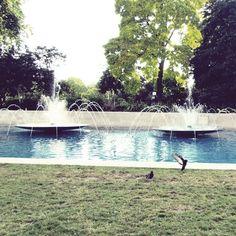 Hyde park fountain - London