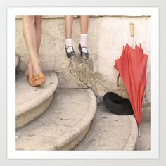 Mommy and me  \ Mamma Art Print by Sandro Moscogiuri - $28.08