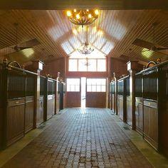 Nothing like the inside of a beautiful barn on a rainy day in Hunt Country! #rain #rainraingoaway #huntcountry #tsg #tsghuntcountry #virginia #thescoutguide #beautifulbarns #barn #stables #horses #horsebarn