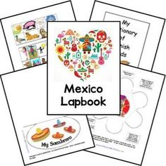FREE- Mexico Lapbook created by Clemen Epcot Mexico, Mexico Country, Spanish Classroom, Teaching Spanish, My Father's World, Cultural Studies, Social Studies, World Thinking Day, World Cultures