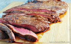 The Best Flank Steak Marinade recipe- Amee's Savory Dish