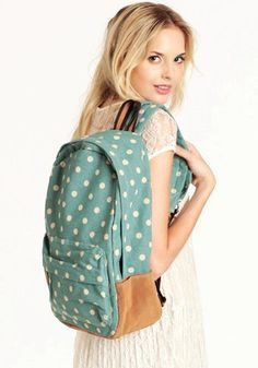 Polka Dot Backpacks for Girls - Cute Polka Dot Backpacks for Girls