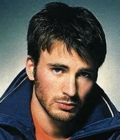 Chris Evans. Got a little bangs going lol