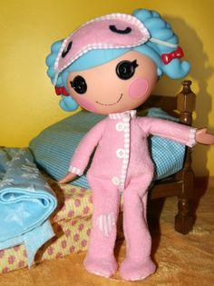 Lalaloopsy Doll Clothing Pattern - PJs https://www.quirkyartistloft.etsy.com