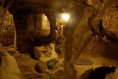 Capadocia city undergrounds
