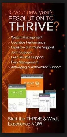 Was your new year's Resolution to Thrive? Start the Thrive 8-week Experience NOW!