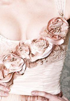 Wedding gown detail - Mariana Hardwick.