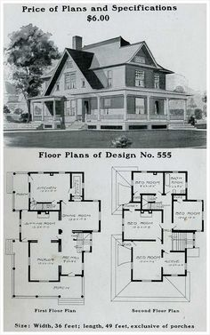 Victorian Farmhouse House Plans Luxury 57 Awesome Old Farmhouse Floor Plans Pic – Daftar Harga The Plan, How To Plan, Bungalow Style House, Bungalow House Plans, Cottage Style, Small Bungalow, Farmhouse Floor Plans, Farmhouse Flooring, Br House