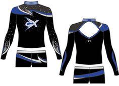 Citywide Xtreme All Stars Custom GK Cheer Uniform