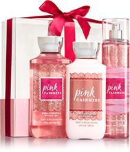 Pink Cashmere Wrapped with a Bow Gift Set - Signature Collection - Bath & Body Works