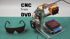 Arduino CNC Laser Enrgaver From DVD Drive: 8 Steps (with Pictures)