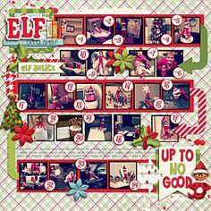 Layout: Elf on a Shelf