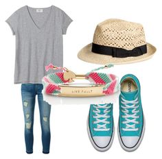 """""""Spring casual"""" by brittany-wilkewitz on Polyvore featuring MICHAEL Michael Kors and Kate Spade"""