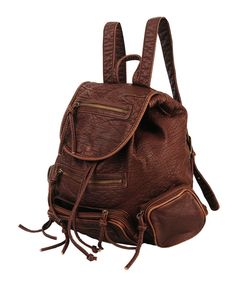 Distressed  leather Backpack! These are like $145 so I'm probably going to be saving up a little money for this.