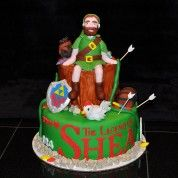 The Legend of Shea (Zelda) Cake
