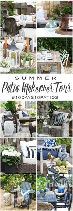 Summer Patio Makeover Tour