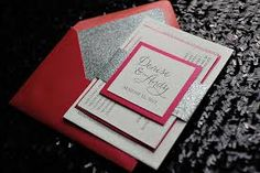 blinged invitations - Google Search