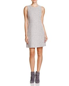 Theory Raneid Felt Shift Dress - Find it on Donde Fashion