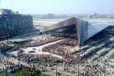 Rotterdam Centraal Station / Team CS