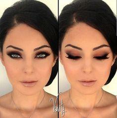 Vanity makeup Cute natural