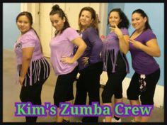 Kim's Zumba Crew .....come and join us u wont regret it!!!!