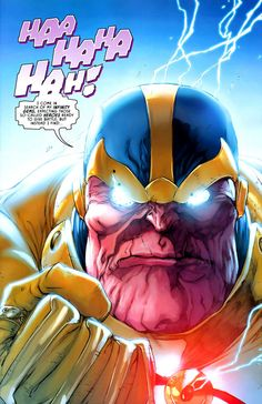 Thanos and The Infinity Gems